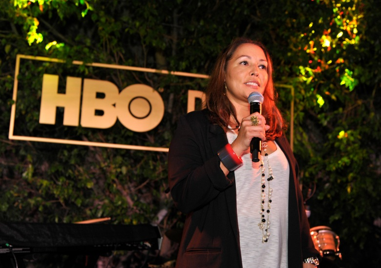 "WEST HOLLYWOOD, CALIFORNIA - DECEMBER 10:  Lucinda Martinez attends the HBO POV ""That's a Wrap"" Celebration on December 10, 2019 in West Hollywood, California. (Photo by John Sciulli/Getty Images for HBO)"