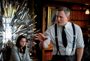 """Knives Out: Ana de Armas (Marta), Daniel Craig (Benoit Blanc)"