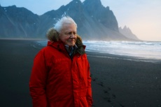David Attenborough in Iceland - Seven Worlds, One Planet _ Season 1 - Photo Credit: Alex Board/BBCAmerica