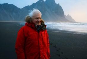 David Attenborough in Iceland- Seven Worlds, One Planet _ Season 1 - Photo Credit: Alex Board/BBCAmerica