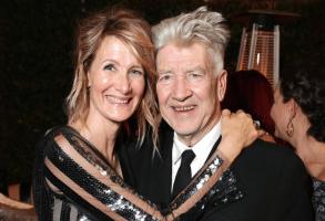 Laura Dern and David Lynch