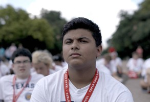 Steven Garza appears in Boys State by Jesse Moss and Amanda McBaine, an official selection of the U.S. Documentary Competition at the 2020 Sundance Film Festival. Courtesy of Sundance Institute | photo by Thorsten Thielow.rrAll photos are copyrighted and may be used by press only for the purpose of news or editorial coverage of Sundance Institute programs. Photos must be accompanied by a credit to the photographer and/or 'Courtesy of Sundance Institute.' Unauthorized use, alteration, reproduction or sale of logos and/or photos is strictly prohibited.