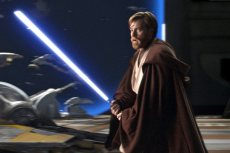 Star Wars: Episode III - Revenge of the SithEwan McGregor (L) and Hayden Christensen