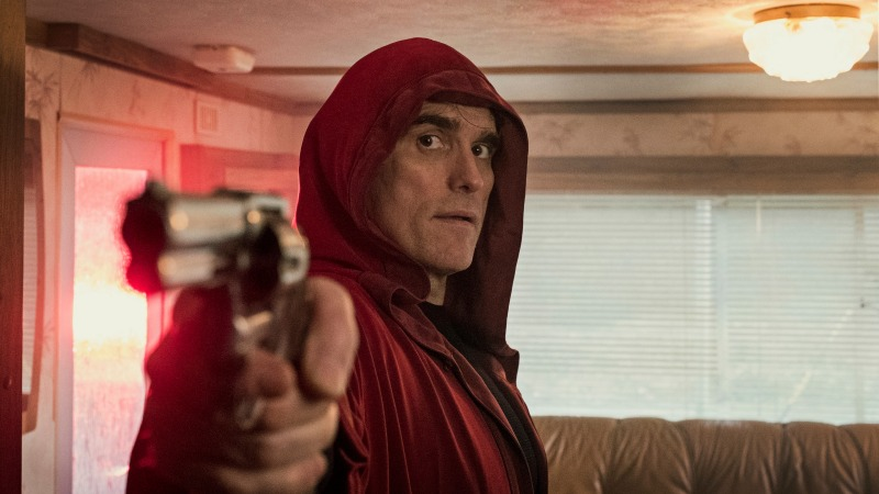 Editorial use only. No book cover usage. Mandatory Credit: Photo by Zentropa/Kobal/Shutterstock (10059392g) Matt Dillon as Jack 'The House That Jack Built' Film - 2018 The story follows Jack, a highly intelligent serial killer, over the course of twelve years, and depicts the murders that really develop his inner madman.