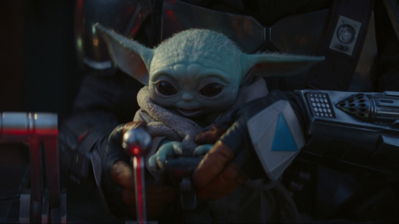 The Mandalorian Baby Yoda The Child Episode 4