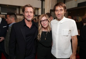 Brad Pitt, Producer/Actor, Dede Gardner, Producer, Jeremy Kleiner, Producer,Twentieth Century Fox 'Ad Astra' special film screening at the Cinerama Dome, Los Angeles, USA - 18 Sep 2019