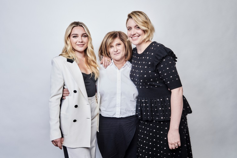 Exclusive all-round no minsMandatory Credit: Photo by Michael Buckner/Deadline/Shutterstock (10462318fa)Exclusive - Florence Pugh, Amy Pascal and Greta Gerwig - 'Little Women'Exclusive - Deadline Contenders, Portraits, DGA Theater, Los Angeles, USA - 02 Nov 2019