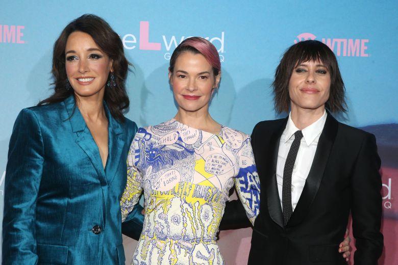 Jennifer Beals, Leisha Hailey and Katherine Moennig'The L Word: Generation Q' TV show premiere, Arrivals, Regal Cinemas L.A. LIVE, Los Angeles, USA - 02 Dec 2019