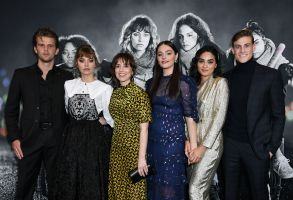 Ben Black, Imogen Poots, Sophia Takal, Lily Donoghue, Brittany O'Grady and Simon Mead'Black Christmas' film screening, Arrivals, Regal L.A. LIVE, Los Angeles, USA - 05 Dec 2019