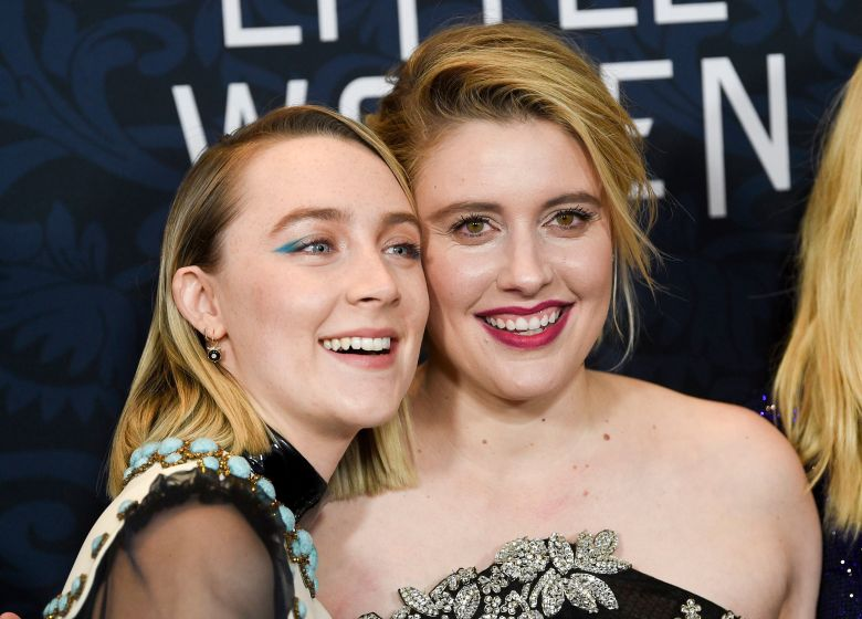 "Saoirse Ronan, Greta Gerwig. Actress Saoirse Ronan, left, and director Greta Gerwig pose together at the premiere of ""Little Women"" at the Museum of Modern Art, in New YorkNY Premiere of ""Little Women"", New York, USA - 07 Dec 2019"