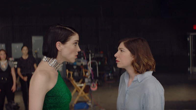 Annie Clark and Carrie Brownstein appear in <i>The Nowhere Inn</i> by Bill Benz, an official selection of the Midnight program at the 2020 Sundance Film Festival. Courtesy of Sundance Institute   photo by Minka Farthing Kohl.rrAll photos are copyrighted and may be used by press only for the purpose of news or editorial coverage of Sundance Institute programs. Photos must be accompanied by a credit to the photographer and/or 'Courtesy of Sundance Institute.' Unauthorized use, alteration, reproduction or sale of logos and/or photos is strictly prohibited.