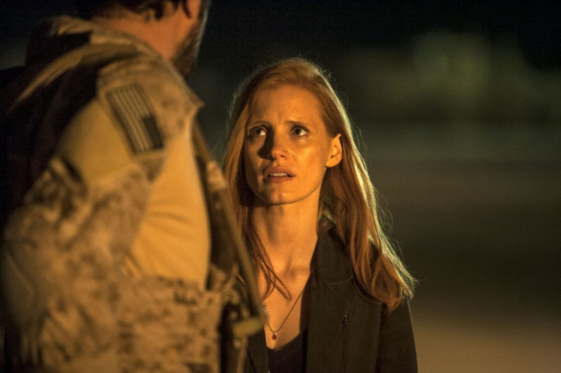 Editorial use only. No book cover usage. Mandatory Credit: Photo by Jonathan Olley/Annapurna/Kobal/Shutterstock (5885903ai) Jessica Chastain Zero Dark Thirty - 2012 Director: Kathryn Bigelow Annapurna Pictures USA Scene Still