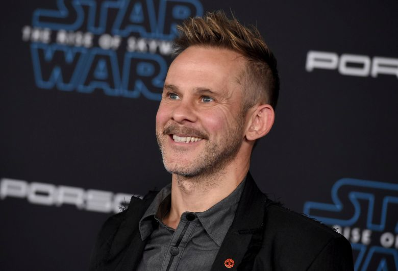 """Dominic Monaghan arrives at the world premiere of """"Star Wars: The Rise of Skywalker"""", in Los AngelesWorld Premiere of """"Star Wars: The Rise of Skywalker"""" - Arrivals, Los Angeles, USA - 16 Dec 2019"""