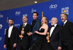 Succession Golden Globes