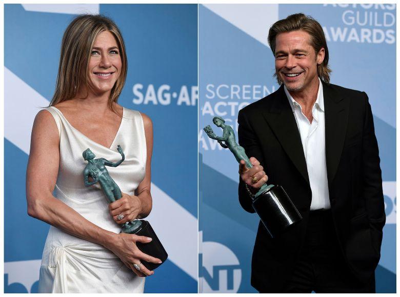 Jennifer Aniston Brad Pitt SAG