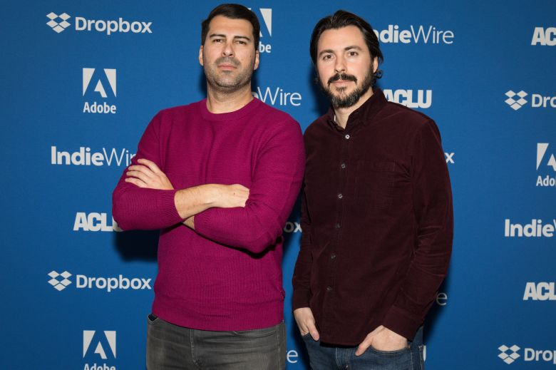 James Lee Hernandez and Brian LazarteIndieWire Sundance Studio presented by Dropbox, Day 4, Sundance Film Festival, Park City, USA - 27 Jan 2020