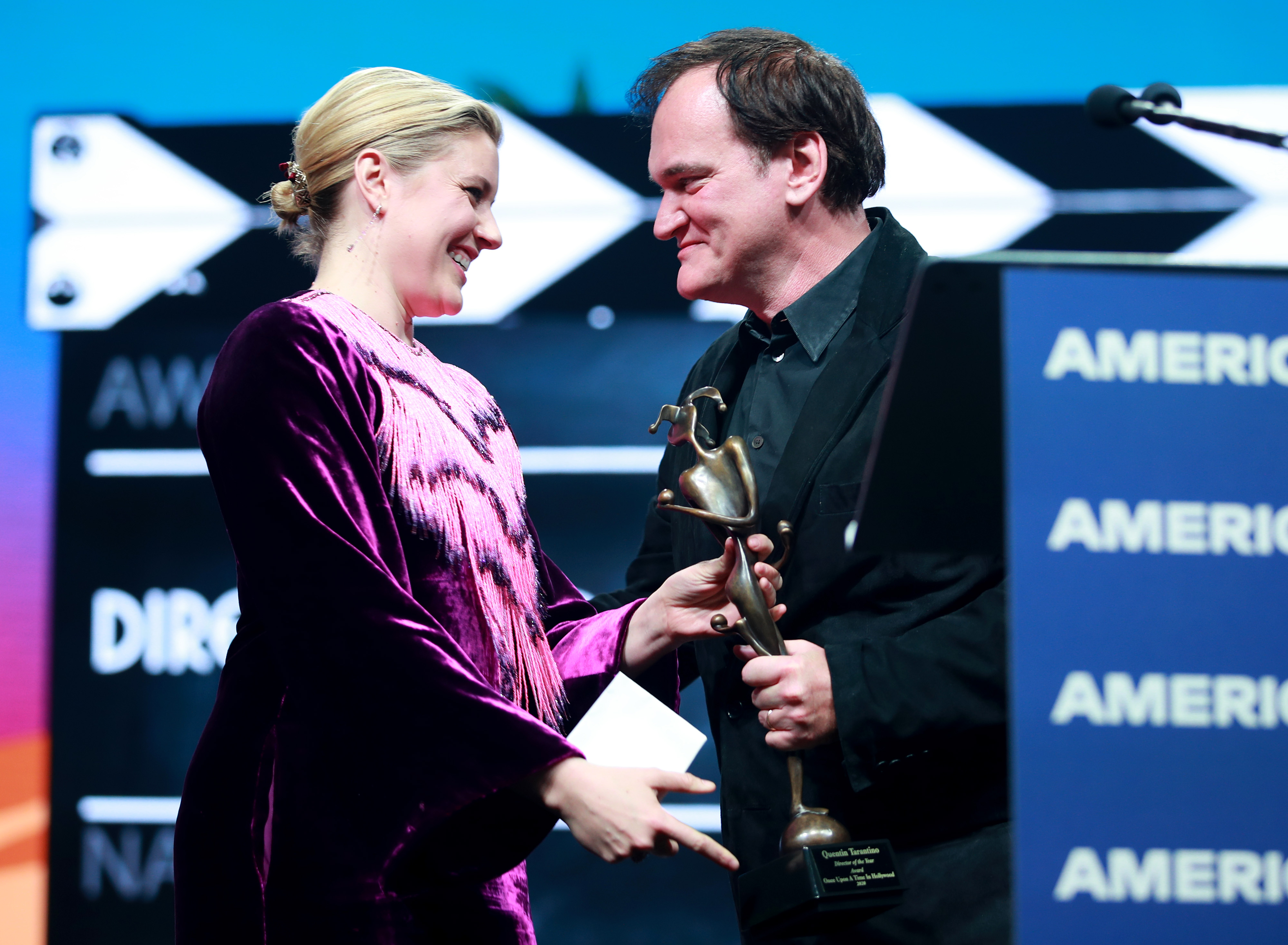 Greta Gerwig Brings Quentin Tarantino to Tears With Emotional Tribute at Palm Springs Gala