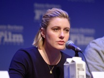 SANTA BARBARA, CALIFORNIA - JANUARY 19: Greta Gerwig speaks onstage at the Writers Panel during the 35th Santa Barbara International Film Festival at the Lobero Theatre on January 19, 2020 in Santa Barbara, California. (Photo by Matt Winkelmeyer/Getty Images for SBIFF)