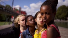 Fathia Youssouf, Medina El Aidi-Azouni, Esther Gohourou, Ilanah Cami-Goursolas, Myriam Hamma, Demba Diaw, and Maimouna Gueye appear in Cuties by Maïmouna Doucouré, an official selection of the World Cinema Dramatic Competition at the 2020 Sundance Film Festival. Courtesy of Sundance Institute.All photos are copyrighted and may be used by press only for the purpose of news or editorial coverage of Sundance Institute programs. Photos must be accompanied by a credit to the photographer and/or 'Courtesy of Sundance Institute.' Unauthorized use, alteration, reproduction or sale of logos and/or photos is strictly