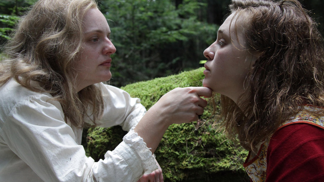 Elisabeth Moss and Odessa Young appear in Shirley by Josephine Decker, an official selection of the U.S. Dramatic Competition at the 2020 Sundance Film Festival. Courtesy of Sundance Institute | photo by Thatcher Keats.All photos are copyrighted and may be used by press only for the purpose of news or editorial coverage of Sundance Institute programs. Photos must be accompanied by a credit to the photographer and/or 'Courtesy of Sundance Institute.' Unauthorized use, alteration, reproduction or sale of logos and/or photos is strictly prohibited.