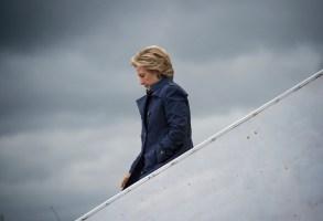 "Hillary Clinton in ""Hillary"" Hulu"