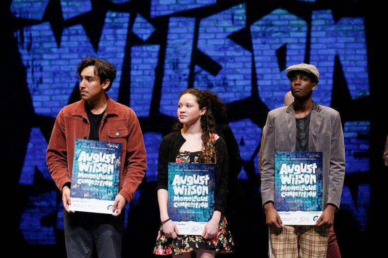 Daniel Velez, Mylah Eaton and Dejean DetervilleAugust Wilson Monologue Competition, Los Angeles, USA - 11 Mar 2019