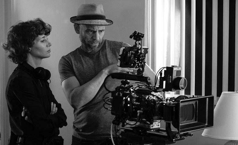 """""""Kajillionaire"""" director Miranda July and DoP Sebastian Wintero"""