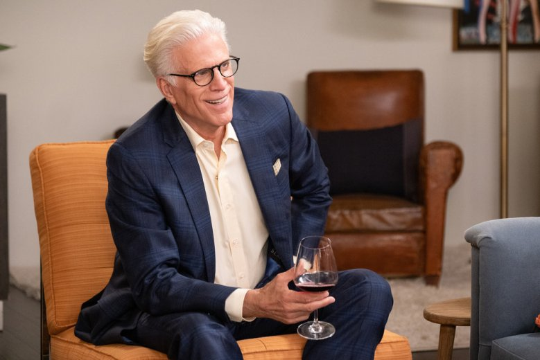 """THE GOOD PLACE -- """"Whenever You're Ready"""" Episode 413/414 -- Pictured: Ted Danson as Michael -- (Photo by: Colleen Hayes/NBC)"""