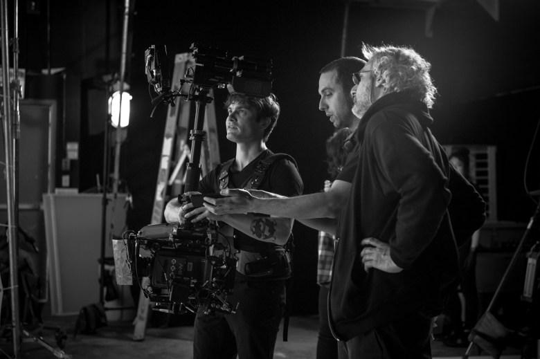 "Behind the scenes of shooting ""Possessor"""
