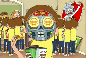 """Rick and Morty,"" Pringles"