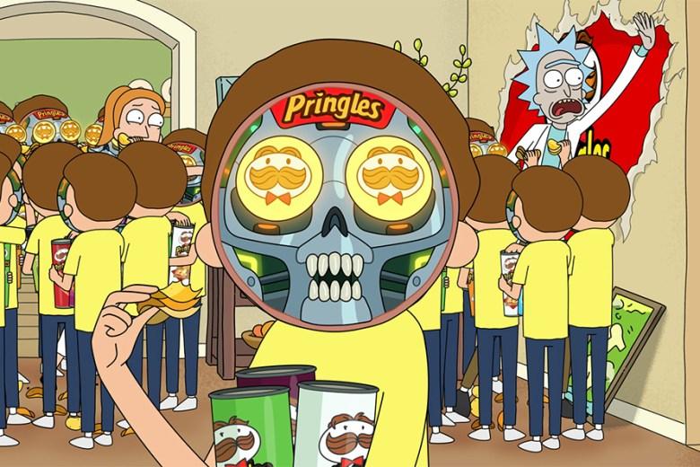 """""""Rick and Morty,"""" Pringles"""