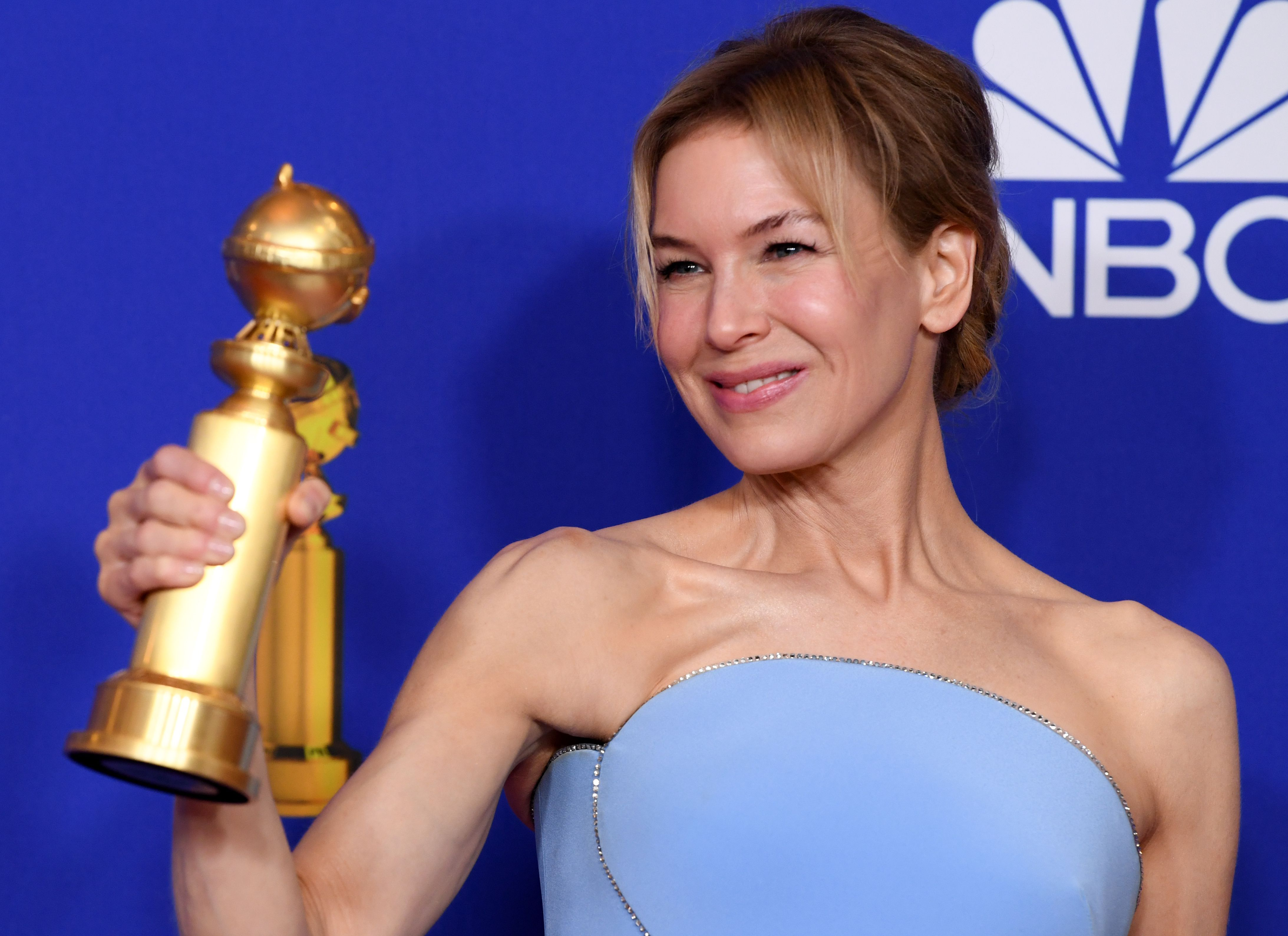 Renee Zellweger - Best Performance by an Actress in a Motion Picture, Drama - Judy77th Annual Golden Globe Awards, Press Room, Los Angeles, USA - 05 Jan 2020