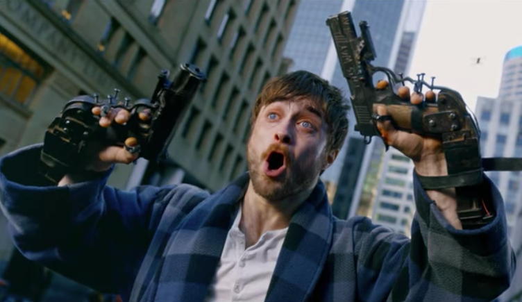 Guns Akimbo Trailer Daniel Radcliffe Has Gun Hands In Dark Comedy Indiewire