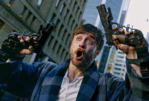 "Daniel Radcliffe in ""Guns Akimbo"""