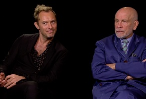"Jude Law and John Malkovich interview ""The New Pope"" HBO"