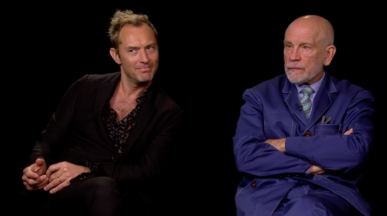 Jude Law and John Malkovich interview