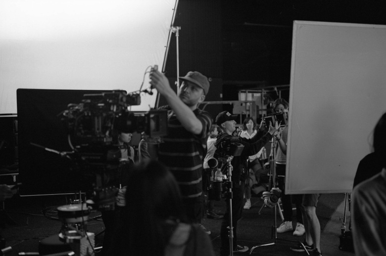 """Behind the scenes of shooting """"The Nowhere Inn"""""""