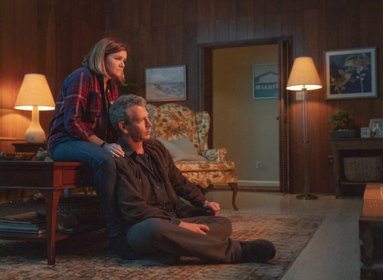 The Outsider HBO Mare Winningham and Ben Mendelsohn