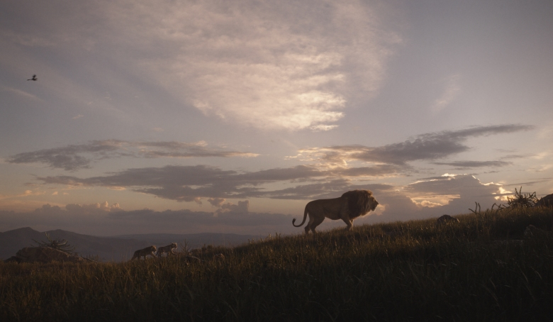 "THE LION KING - Featuring the voices of JD McCrary as Young Simba, Shahadi Wright Joseph as Young Nala and James Earl Jones as Mufasa, Disney's ""The Lion King"" is directed by Jon Favreau. In theaters July 19, 2019. © 2019 Disney Enterprises, Inc. All Rights Reserved."