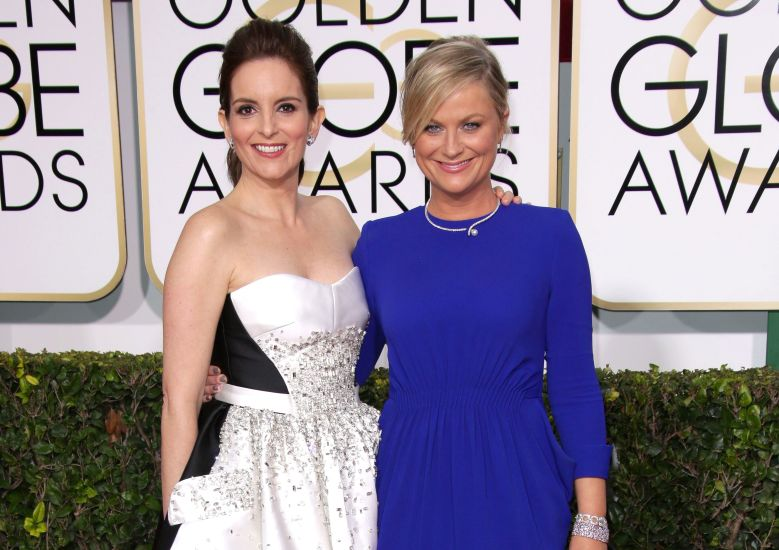 Tina Fey and Amy Poehler72nd Annual Golden Globe Awards, Arrivals, Los Angeles, America - 11 Jan 2015