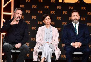 Alex Garland, Sonoya Mizuno and Nick Offerman of FX on Hulu's 'Devs'FX Networks TCA Winter Press Tour, Panels, Los Angeles, USA - 09 Jan 2020