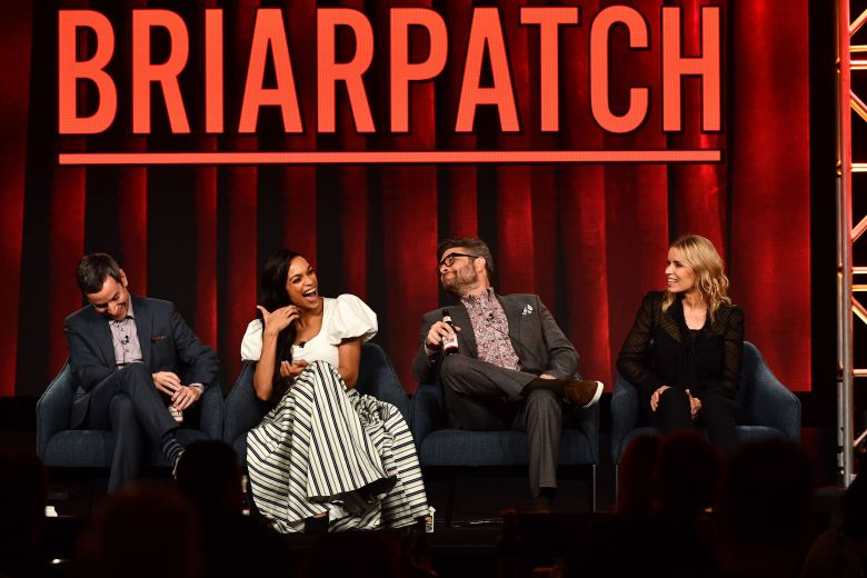 Andy Greenwald, Rosario Dawson, Jay R. Ferguson and Kim Dickens of USA Network's 'Briarpatch'NBC Universal TCA Winter Press Tour, Panels, Los Angeles, USA - 11 Jan 2020
