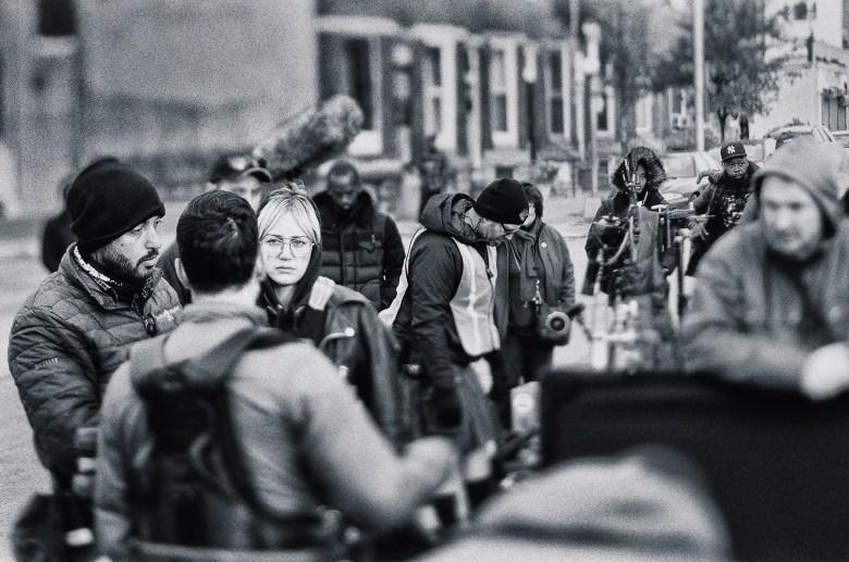"Behind the scenes of shooting ""Charm City Kings"""