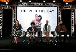 "Ava DuVernay, Cicely Tyson, Xosha Roquemore, Alano Miller. Ava DuVernay, from left, Cicely Tyson, Xosha Roquemore and Alano Miller appear at the OWN: Oprah Winfrey Network's ""Cherish the Day"" during the Discovery Network TCA 2020 Winter Press Tour at the Langham Huntington, in Pasadena, Calif2020 Winter TCA - Discovery Network, Pasadena, USA - 15 Jan 2020"