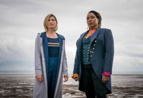 Jodie Whittaker and Jo Martin in 'Doctor Who'