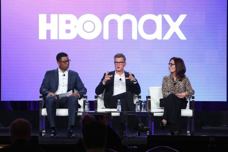 Michael Quigley, Kevin Reilly and Sarah AubreyHBO Max presentation, Warner Bros TCA Winter Press Tour, Panels, Los Angeles, USA - 15 Jan 2020