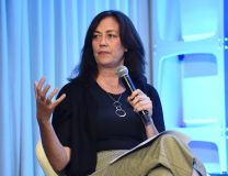 Jane Fleming, Partner, Court Five ProductionsAudiences Want More: Bringing Diverse Projects to the Marketplace with ReFrame, American Film Market 2019, Loews Hotel, Santa Monica, Los Angeles, USA - 09 Nov 2019