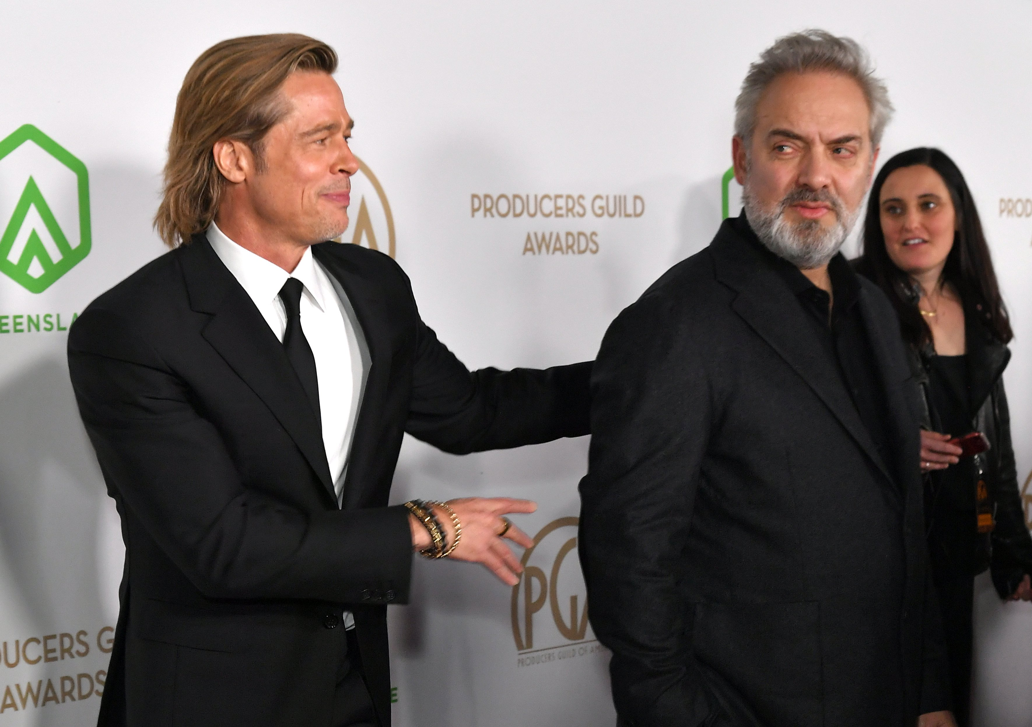 Brad Pitt and Sam Mendes31st Annual Producers Guild Awards, Arrivals, Hollywood Palladium, Los Angeles, USA - 18 Jan 2020