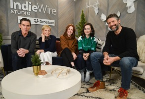 Billy Crudup, Michelle Williams, Julianne Moore, Bart FreundlichIndieWire Sundance Studio by Dropbox, Sundance Film Festival, Park City, USA - 25 Jan 2019