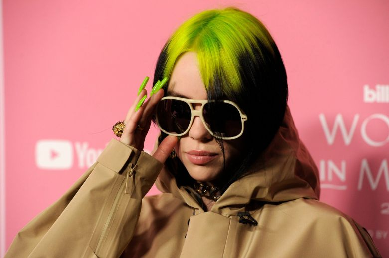 Billie Eilish arrives at Billboard's Women in Music at the Hollywood Palladium, in Los Angeles2019 Billboard Women in Music, Los Angeles, USA - 12 Dec 2019